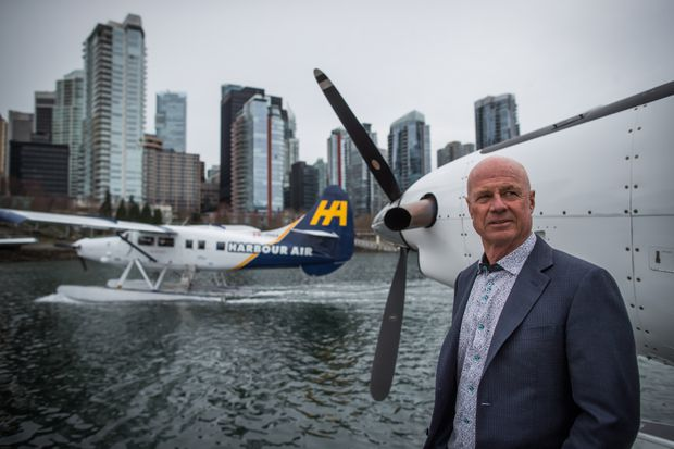 Top seaplane airline Harbour Air looking at switching to battery-powered aircraft