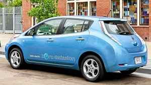 2011 Nissan Leaf.
