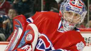 Carey Price #31 of the Montreal Canadiens clears the puck during the game against the Los Angeles Kings at the Bell Centre on January 31, 2009 in Montreal, Quebec, Canada. The Canadiens defeated the Kings 4-3. (Photo by Richard Wolowicz/Getty Images)