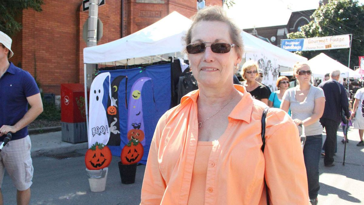 """Name: Beverly Prevost Age: 67 Riding: Hamilton Mountain Ms. Prevost has been a longtime Conservative voter -- partly becuase of her husband """"You do it for years, you know?"""" But this year she's considering shaking it up: She's definitely not a fan of Dalton McGuinty's wind energy policies (and he """"gives me the willies, for some reason. I don't know why""""). But she also doesn't like Tim Hudak as much as she liked his predecessor, John Tory. """"The politics of both parties, at the moment -- I'm certainly not very pleased with them."""" So that leaves her toying with the idea of voting NDP for the first time in her life -- she just needs a push from their campaign team. """"They're big in the area, and I like what they're doing."""""""