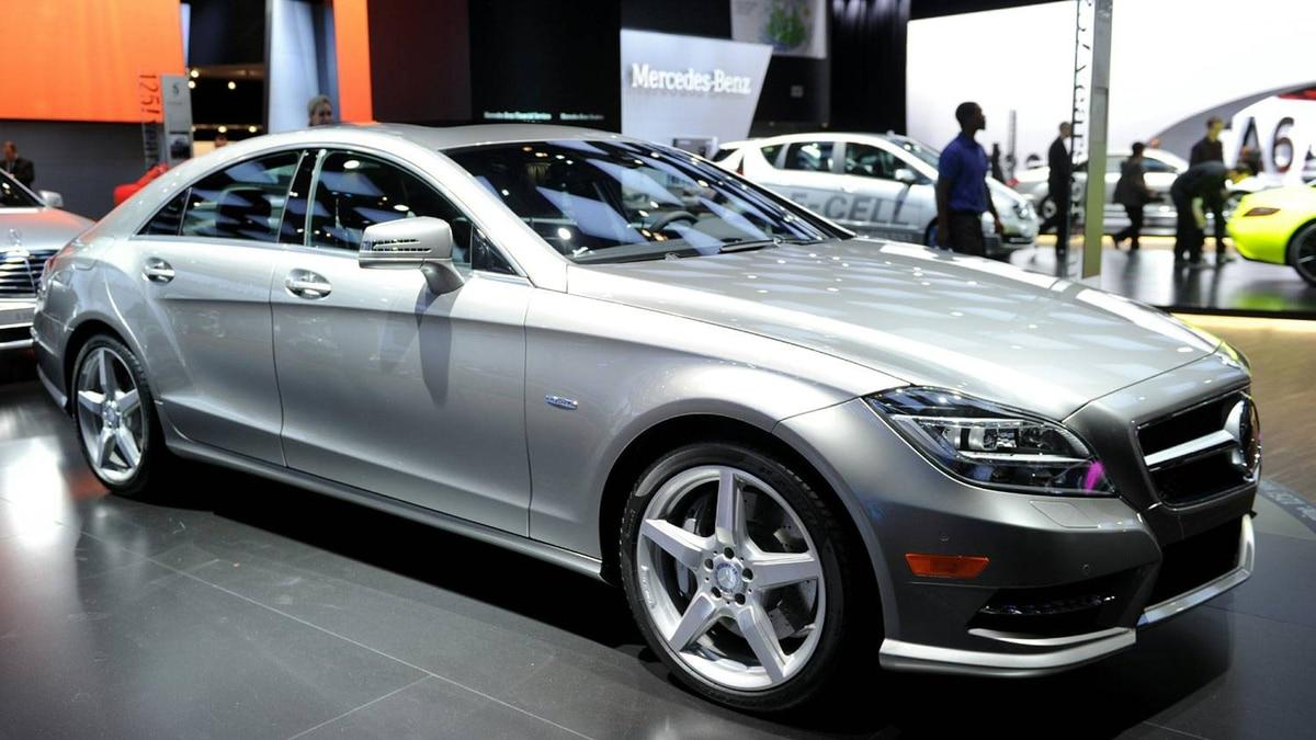 Mercedes-Benz 550 CLS