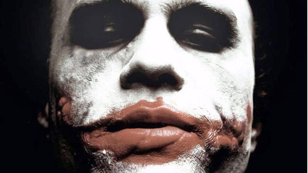 Heath Ledger starred as the Joker in The Dark Knight.