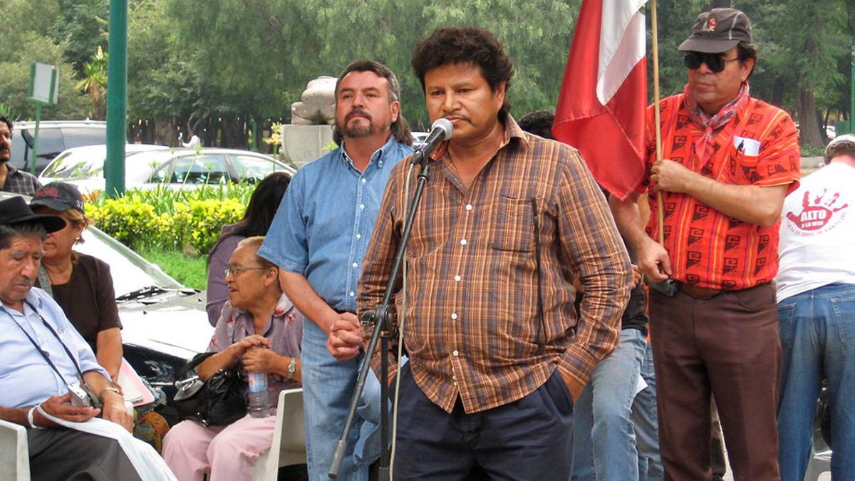 Mariano Abarca Roblero, from the village of Chicomoseco in Chiapas, talks about his community's struggle against Canadian corporation Blackfire.
