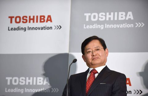 Toshiba opts for tech outsider as former banker becomes CEO