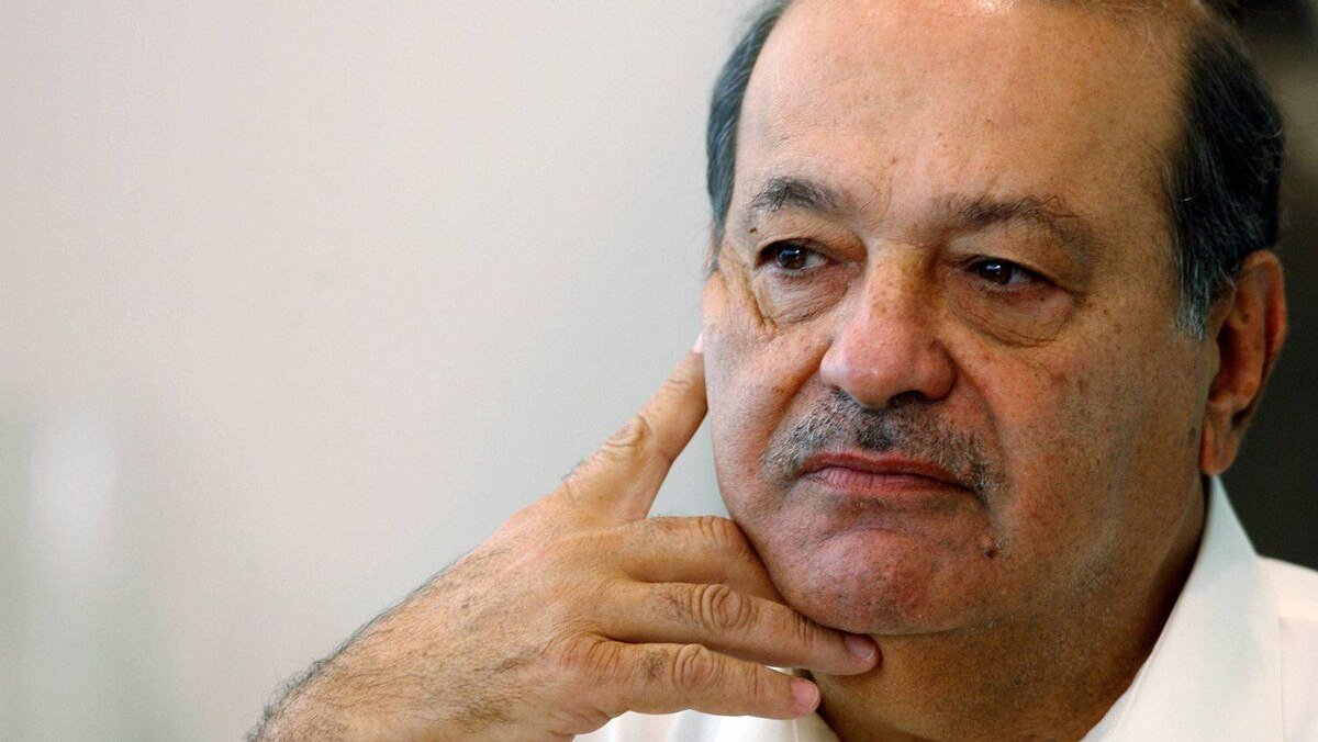 Mexican tycoon, Carlos Slim, the richest man in the world according to Forbes