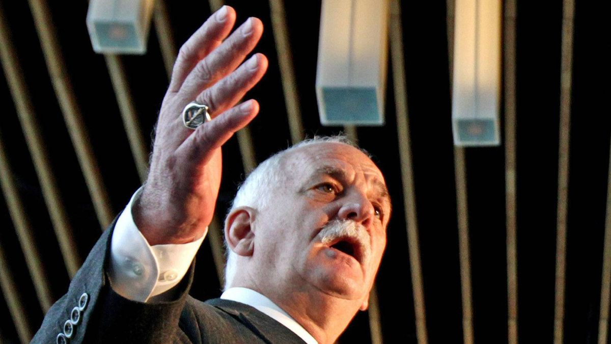 Public Safety Minister Vic Toews speaks during a Vancouver news conference on Jan. 19, 2011.