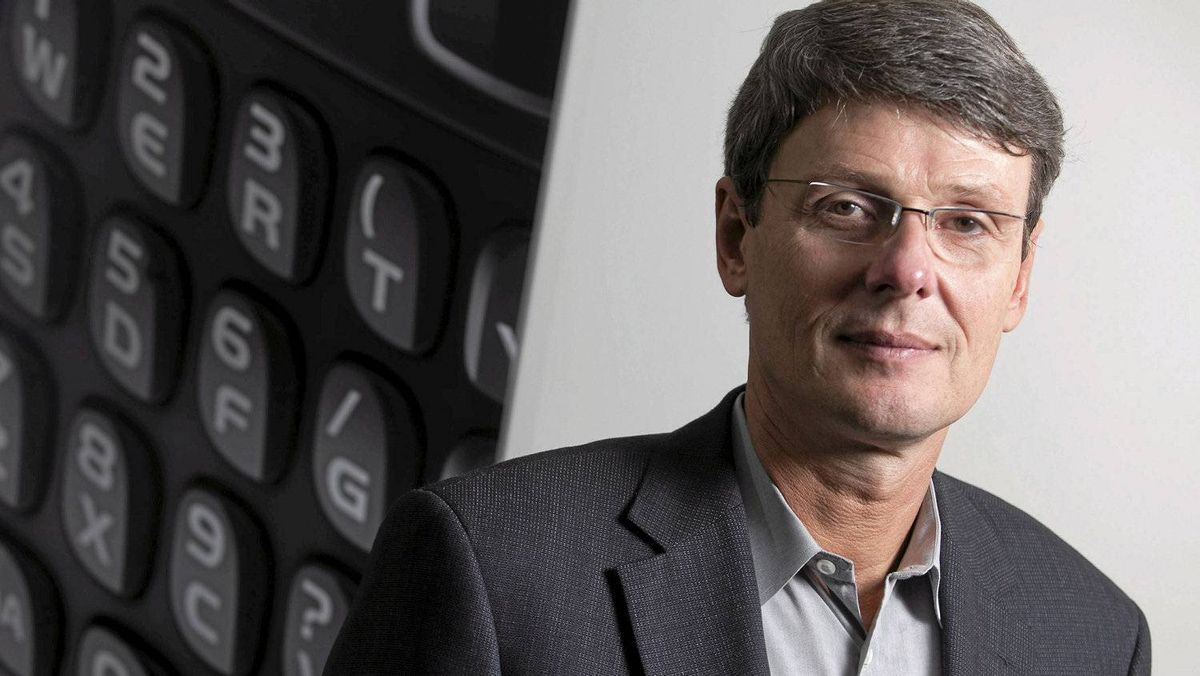New RIM chief executive officer Thorsten Heins reports fourth-quarter results Thursday for the BlackBerry maker.