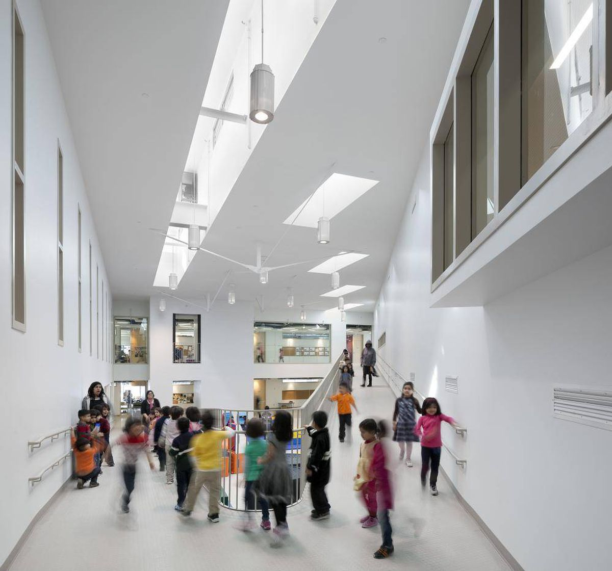 Four Ways To Better Interior Design Installations: How Great Design Built A Better Elementary School In