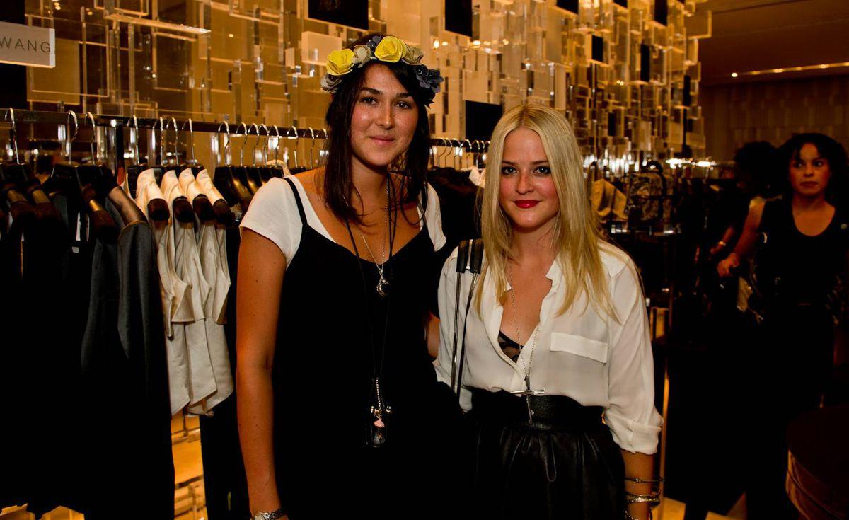 Lara Vincent (left) and Genevieve Bergman