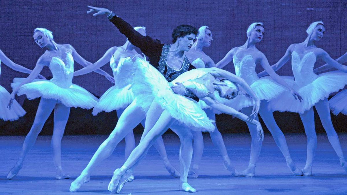"""A scene from """"Swan Lake"""""""