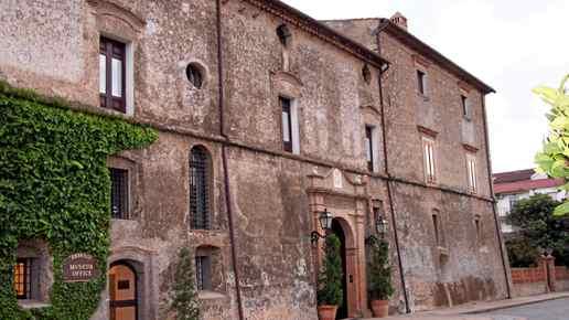 The Amarelli liquorice museum in Rossano, Italy.