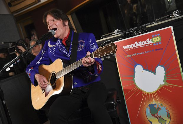 Lineup unveiled for shows marking 50th anniversary of Woodstock