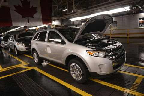 Ford gets investment boost from Ontario, Ottawa