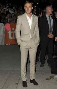 """TORONTO, ON - SEPTEMBER 09: Actor Ryan Gosling arrives at """"Ides Of March"""" Premiere at Roy Thomson Hall during the 2011 Toronto International Film Festival on September 9, 2011 in Toronto, Canada"""