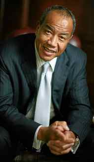 """<h2>Michael Lee-Chin</h2> Day job: Chairman and CEO of Portland Investment Counsel and Chairman of Portland Holdings Inc., and National Commercial Bank of Jamaica. Born: Port Antonio, Jamaica How old were you when you moved to Canada? 19 First job in Canada? Bouncer Net worth? $1-billion Signs of promise? Short on tuition, wrote to the Jamaican prime minister and asked him to """"invest in Jamaica's future."""" Street cred? Ranked 701 in the latest Forbes Billionaire List. Do you give back? Donated $30-million to the Royal Ontario Museum in 2003, giving it the eponymous crystal."""