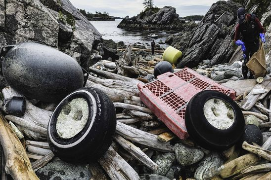 Stepping Up: With season cancelled, ecotourism group tackles marine waste