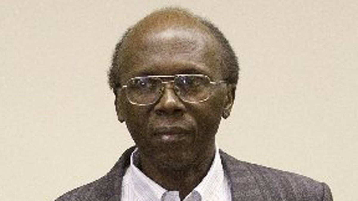 Leon Mugesera, accused of helping incite the Rwandan genocide, arrives for his immigration hearing to seek a judicial review and a delay of his expulsion from Canada,on Jan. 16, 2012, in Montreal. Mr. Mugesera lost a two-decade battle to stay in Canada and is now set to be deported.