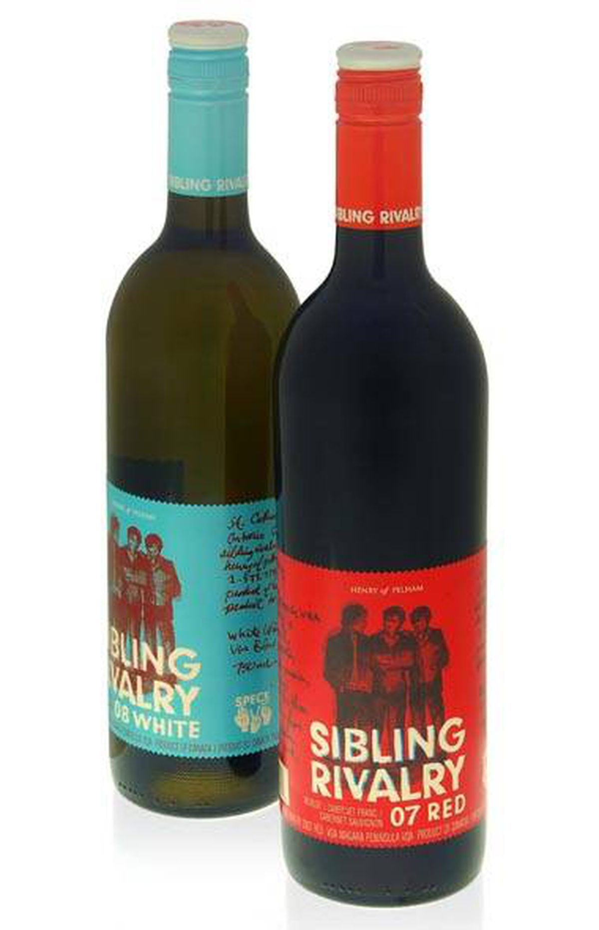Henry of Pelham's Sibling Rivalry line is part of a trend toward locally sourced wines.