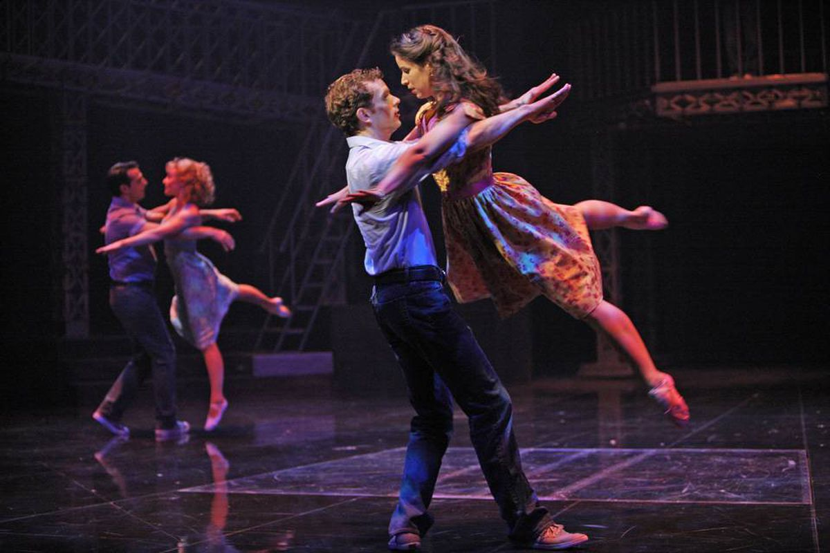 Chilina Kennedy and Paul Nolan were knockouts as West Side Story's star-crossed lovers Maria and Tony.