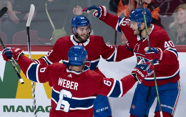 Montreal Canadiens strike quickly, shut out Minnesota Wild 4-0
