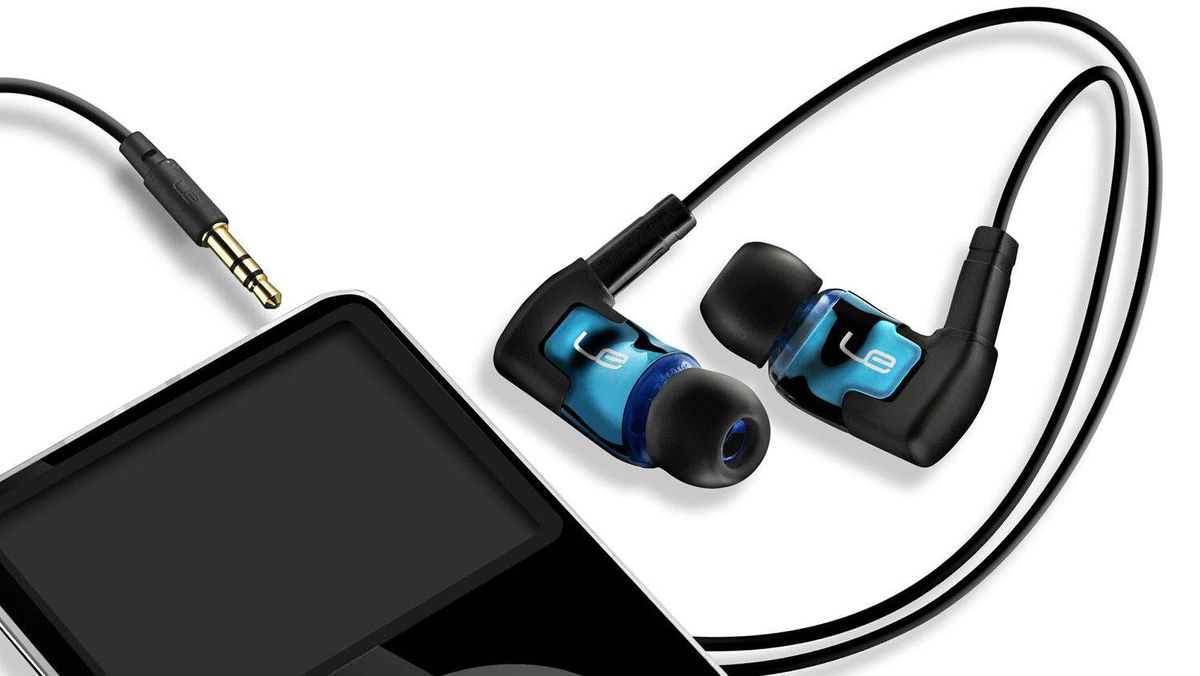 Each earbud in the Ultimate Ears TripleFi 10 noise-isolating earphones contains three tiny speakers that draw out the nuances of what you're listening to.