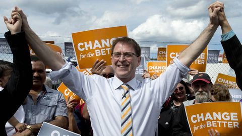 B.C. NDP stays ahead as Liberals' base erodes