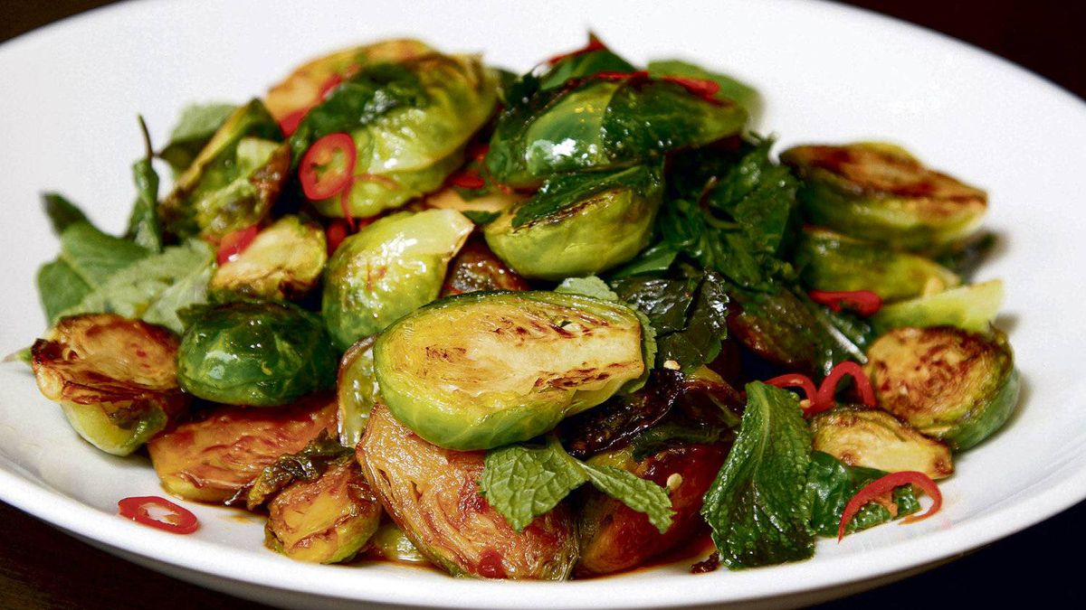 David Lee's Thai-style Brussels sprouts - The Globe and Mail