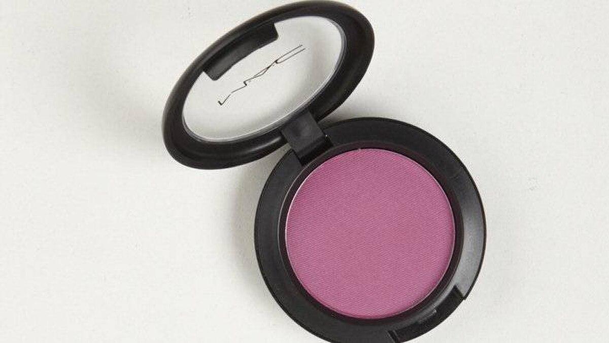 M.A.C. Powder Blush in Overdyed, $22 through www.maccosmetics.com.