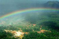 The Las Cristinas gold mine in Bolivar State, Venezuela.