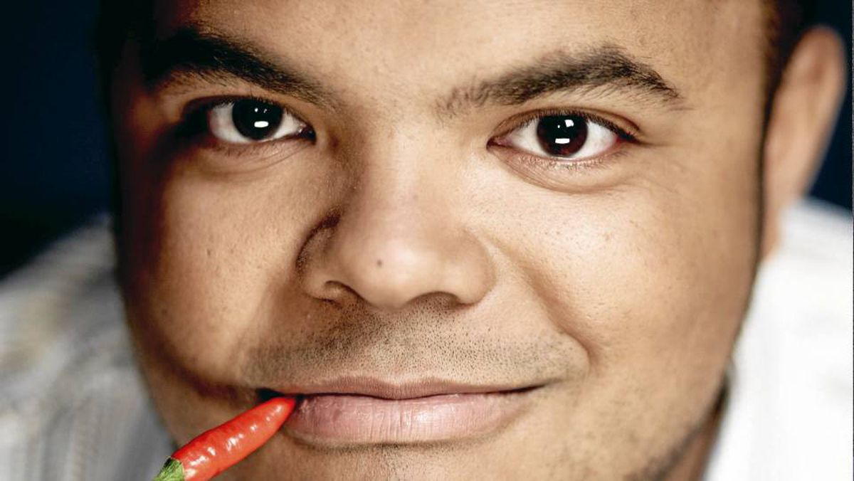 Roger Mooking, host of Food Network's Everyday Exotic.