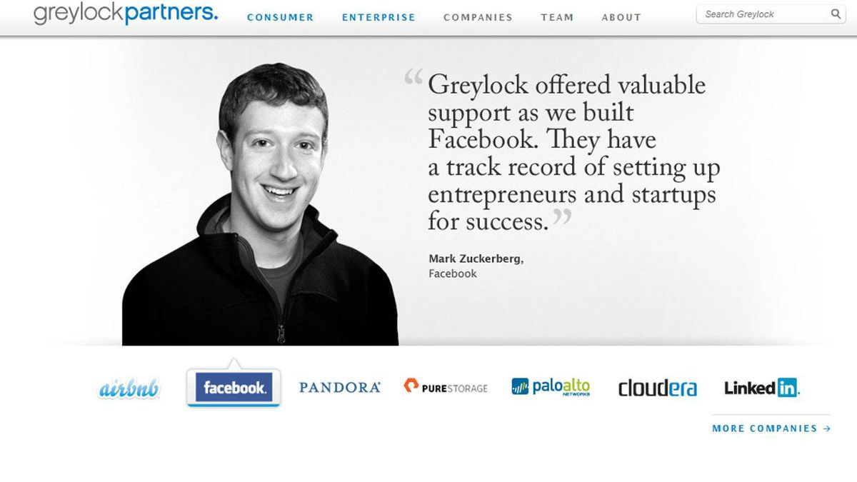 Greylock Partners, Silicon Valley venture capital firm and affiliates. Year invested in Facebook: 2006 Number of shares being offered: 7 million Value at $35 per share: $245-million