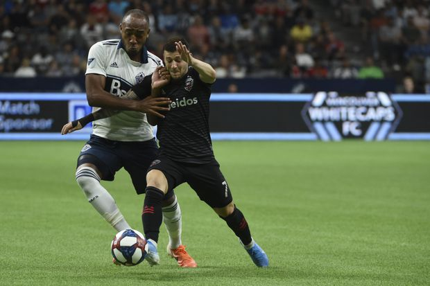 Reyna scores, helping Vancouver Whitecaps to 1-0 win over D.C. United