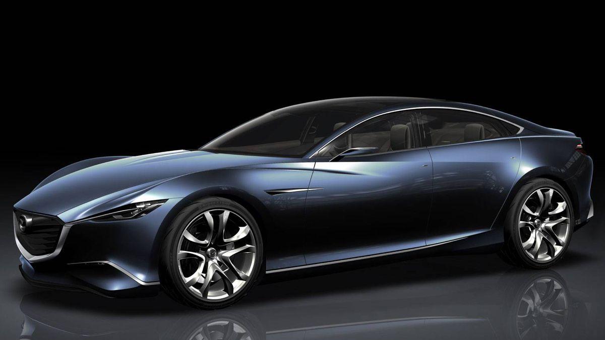 The Shinari sports coupe best encapsulates the future of Mazda design