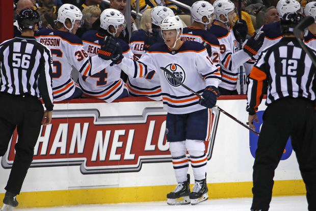 Oilers' Colby Cave placed into medically induced coma after suffering brain bleed
