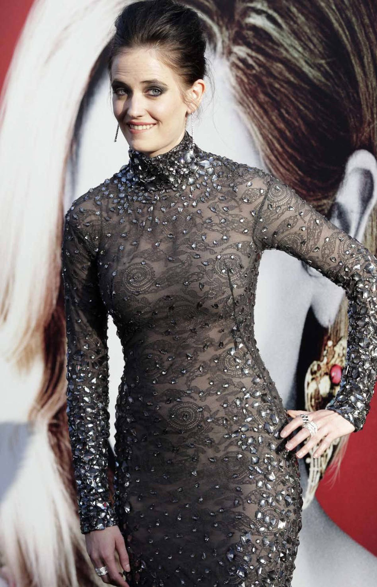 """Oh I think we do,"" says cast member Eva Green at the premiere of ""Dark Shadows"" in Hollywood on Monday."