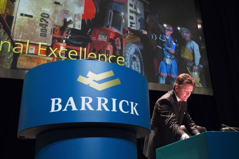 Barrick Gold Corporation (ABX) Shares Sold by Edmond DE Rothschild Holding SA
