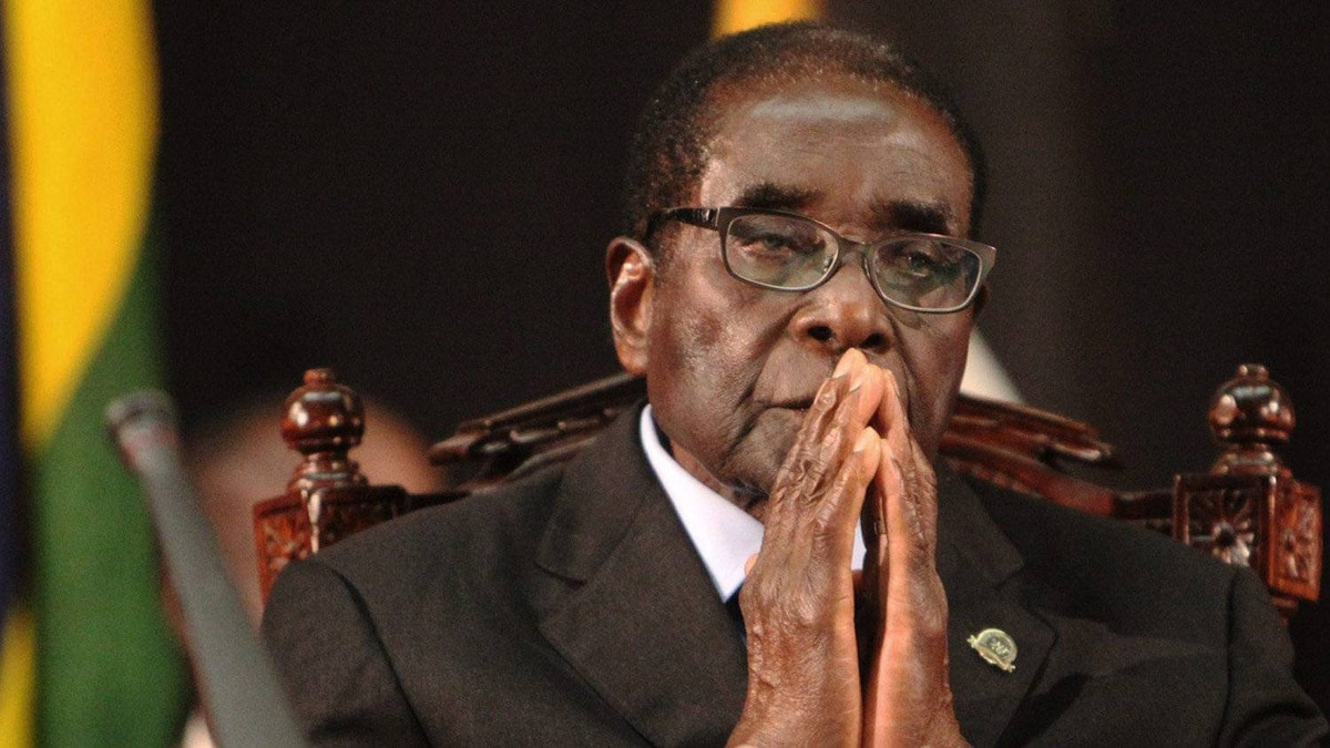 Zimbabwean President Robert Mugabe attends the 20th anniversary of the African Capacity Building Foundation (ACBF) in Harare, Wednesday, Feb. 8, 2012.