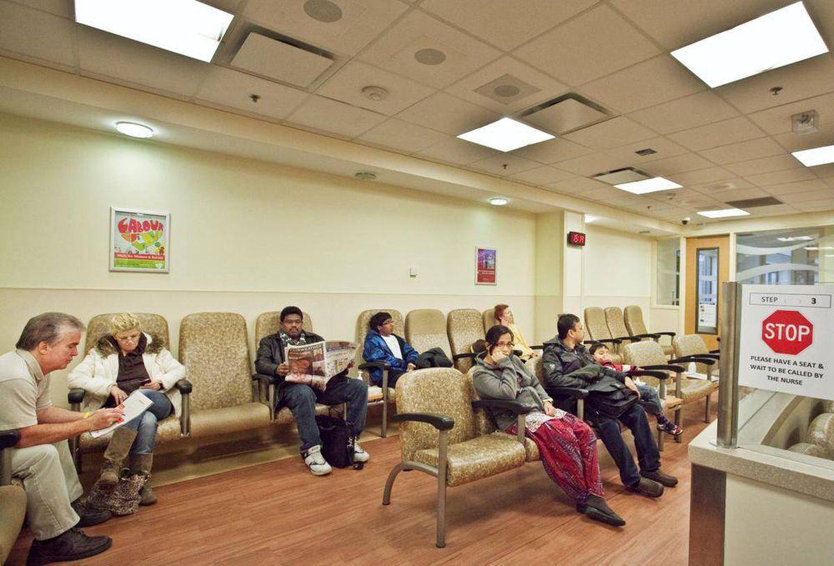 Emergency Room Waits Vancouver