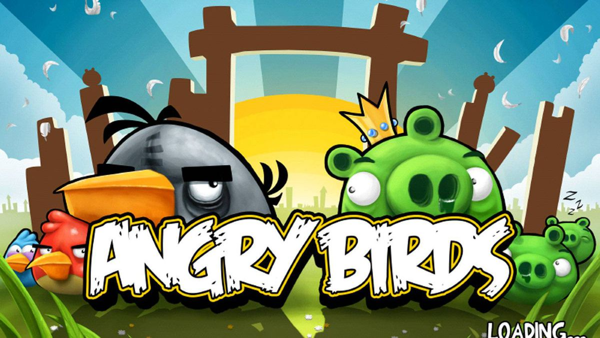 Screencap of Rovio's popular iPhone Game Angry Birds. The Finland-based company is aiming for a stock market listing in New York in two to three years, its chief executive told Reuters.