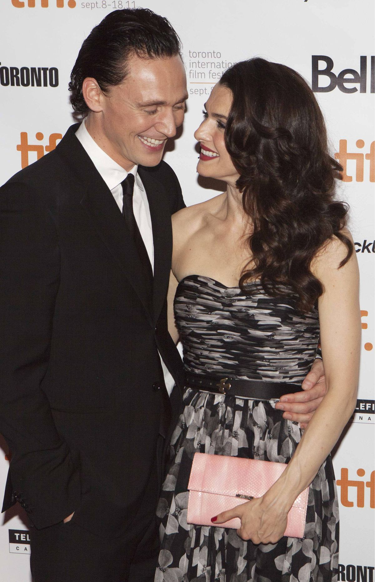 "Cast members Rachel Weisz and Tom Hiddleston arrive on the red carpet for the film ""The Deep Blue Sea"" during the 36th Toronto International Film Festival (TIFF) September 11, 2011."