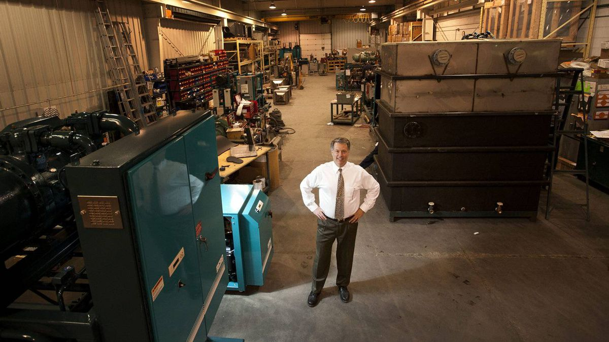 Don Berggrens' Toronto business is finding opportunity in Alberta's oil fields by supplying cooling equipment, increasing his work force to 71 from 45.