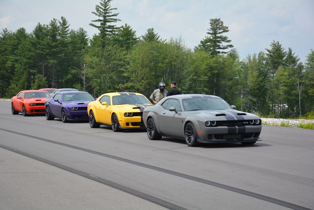 Review Behold The Dodge Challenger Lineup S Unrepentant Pure Power
