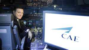 Marc Parent, president and CEO of CAE Inc., is seen in this April 21, 2010 file photo. CAE's $314-million acquisition of Oxford Aviation Academy will increase its training capacity by 67 per cent and gets the Montreal-based company into the pilot courcing business.