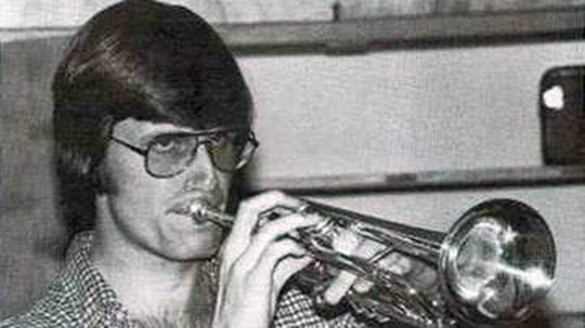 Russell Williams, then known as Russ Sovka, is shown in a 1982 high school yearbook photo.