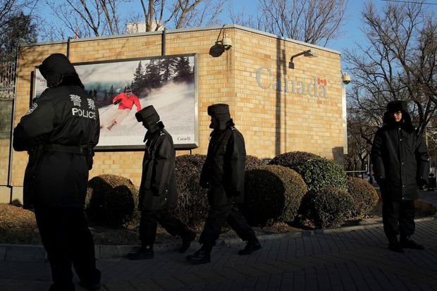Canadian embassy in China deletes 'inappropriate' #NoRoomService tweet