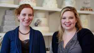 Sarah Bell and Allyson Meredith Bobbitt of Toronto pastry shop Bobbette and Belle.