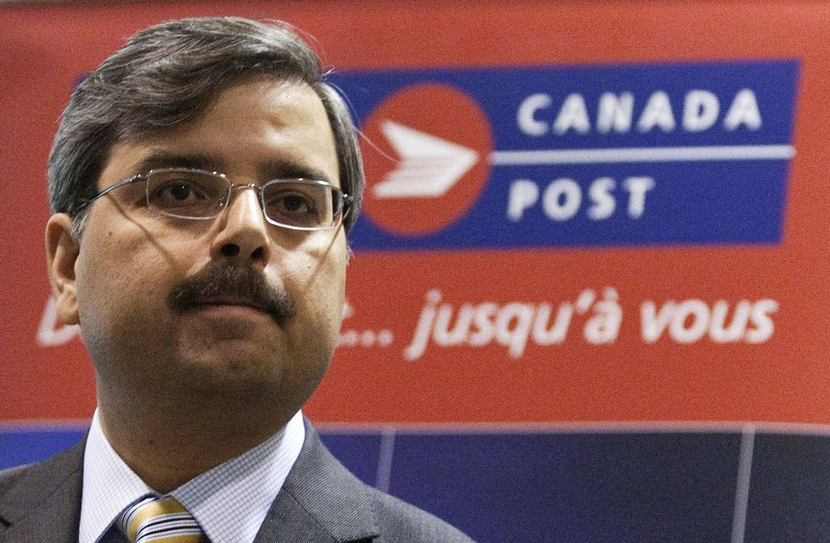 New president and CEO of Canada Post Deepak Chopra