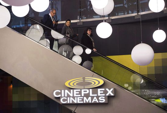 Cineplex shares plunge as third-quarter earnings miss expectations despite higher revenues