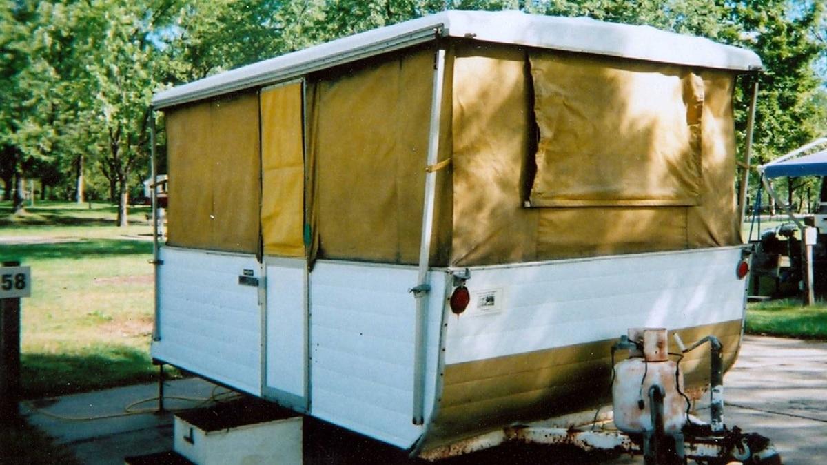 1961 Phoenix Yellowbird Tent Camper