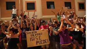 In dozens of cases, crowds of protesters in Spain have made it impossible for officials to deliver court orders for eviction.